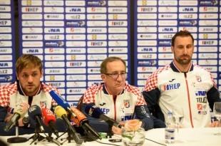 Luka Cindrić, Lino Červar i Igor Vori / Foto: HINA
