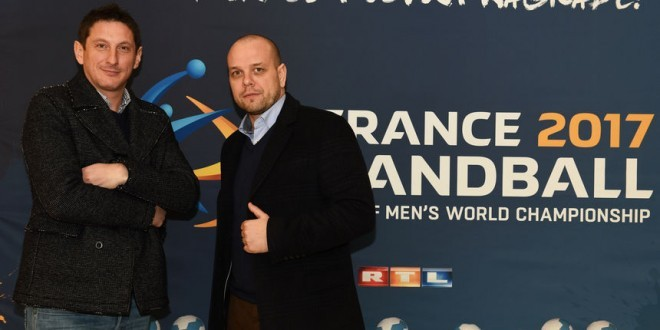 Komentatori RTL-a Mirza Džomba i Goran Šprem pozdravili su hrvatske navijače iz iseljeništva i BiH / Foto:RTL.hr