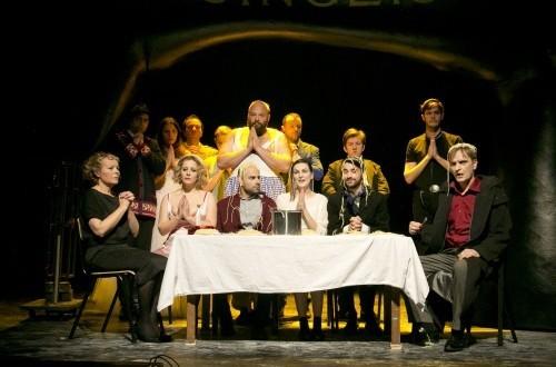Arhivska snimka predstave Šest likova traži autora / Foto: Kazalište Kerempuh