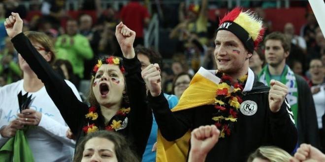 Radost njemačkih navijača u Zagrebu / Foto:Hina