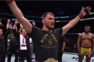 Stipe Miočić s pojasom naslova UFC prvaka / Foto: Fightsite