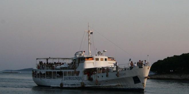 Putnički brod Tijat / Foto:Jadrolinija