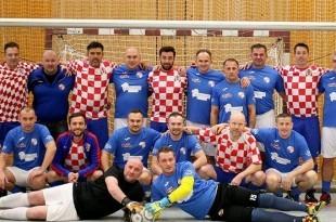 Zajednička slika veterana BSK Termia-Bizovac i SC Croatia Freiburg