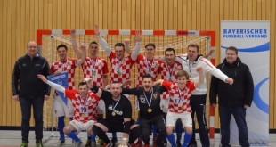 Primili priznanja za osvajanje prvaka Bayern lige - Croatia Müenchen Futsal / Foto: Fenix Magazin