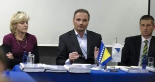 Anto Nobilo sastao se u Sarajevu sa predstavnici Saveza logoraša BiH / Foto:HMS
