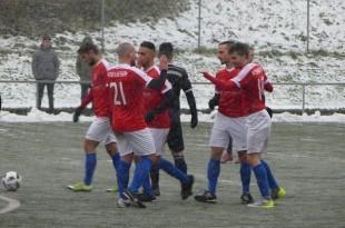 Igraci Croatije Bitigheim u zimskom ozracju