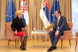 Kolinda i Vučic u Beogradu u
