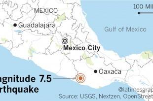 Potres Mexiko