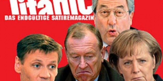 Satire magazin Titanic