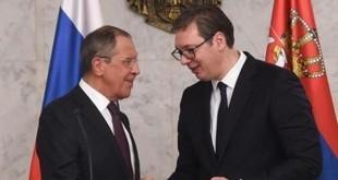 Sergej Lavrov i Aleksandar Vučić / Foto:FaH