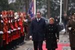 Srbijanski predsjednik na Pantovcaku (1)
