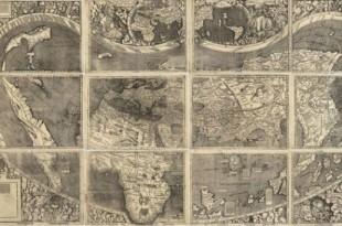 Slavna karta svijeta s nazivom Amerika, koja je plaćena 2 milijuna DEM je krivotvorena / Foto:BDH