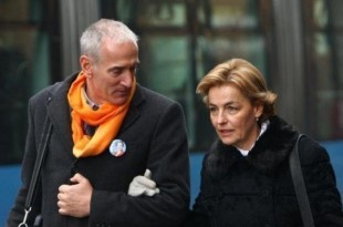 Boris Blažeković i Vesna Pusić / Foto:Hina