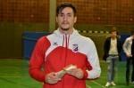 Najbolji igrač turnira Mario Nikolovski Croatia Reutlingen
