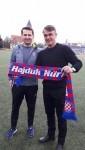 Damir Burić s trenerom Hajduka (N) Tonijem Jukićem