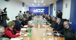 Sjednica Predsjedništva HDZ-a