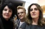Hrvatske likovne umjetnice iz Švicarske Marica Zrakić, Marina Vučković i Draga Šola / Foto: Fenix Magazin