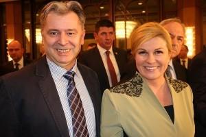 Ante Gugo i predsjedica Kolinda Grabar Kitarović