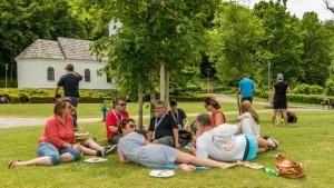 Picknick in Smiljan Birthplace of Nikola Tesla