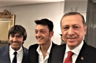 Erdogan i Mesut Ozil