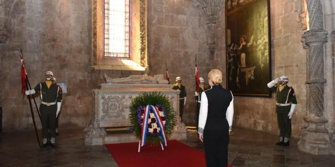 Hrvatska predsjednica u Portugalu / Foto: Ured Predsjednice