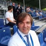 Predsjednik FC Blue Stars Abraham Abi Pranjic
