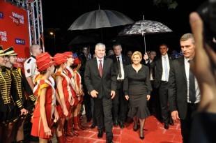 Na Večernjakov pečat u Mostar stigla je i hrvatska predsjednica Kolinda Grabar Kitarović / Foto: S.Lasić Večernji.ba