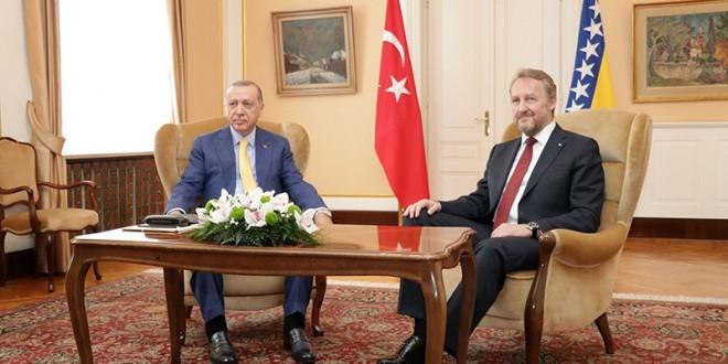 Erdogan i Bakir Izetbegovic