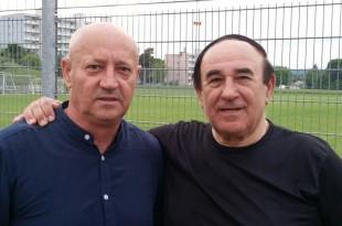 Predsjednik Pajda Luka Rakitić i Fenixov dopisnik i licencirani trener Pajda Ivan Barišić / Foto: Fenix Magazin