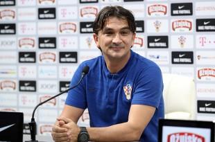Izbornik Hrvatske nogometne reprezentacije Zlatko Dalić. Foto: Hina