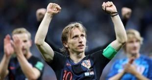Luka Modrić je po drugi put proglašen igračem utakmice / Foto:Hina