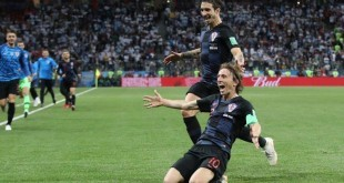 Luka Modrić zabio je sjajan pogodak Argentini / Foto: Hina