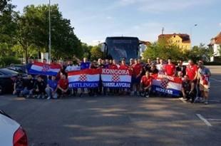 Hrvatski navijaci iz Reutlingena