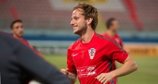 Dokapetan hrvatske reprezentacije Ivan Rakitić / Foto:Hina