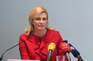Hrvatska predsjednica Kolinda Grabar Kitarović / Foto: Hina