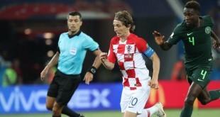 Luka Modrić je bio najbolji protiv Nigerije / Foto: Hina