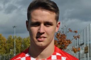 Igrač NK Croatie ZH Nikola Petrlić. Foto: I.Barišić