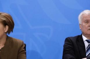 Njemačka kancelarka Angela Merkel i Horst Seehofer / Foto: Hina