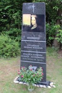 Spomenik posljednjoj bosanskoj kraljici bl. Katarini Kotromanić Kosača / Foto: Fenix Magazin