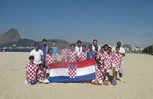 Nogometni klub Vila Croácia Senador Camará.iz Rio de Jeneira / Foto: Vila Croatia -Fenix Magazin