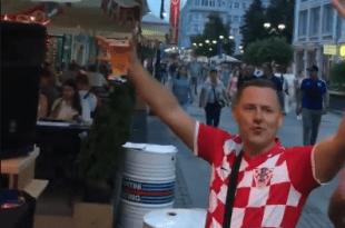 Hrvati iz Bonna u Nižnjem Novgordu. Foto: Screenshot