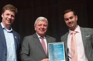 Julian Ament je dobio priznaje za uspješan projekt potpore mladih: Foto: Julian Ament