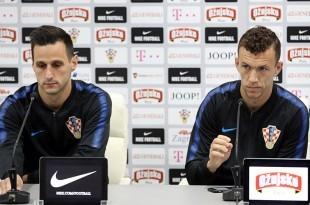 Nikola Kalinić i Ivan Perišić. Foto: Hina