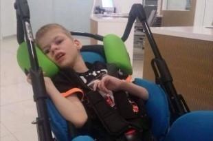 Mali Lovro izborio se za život i bori se svaki dan zajedno sa svojom obitelji. Foto: Facebook/Milijan Brkić