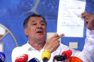 Zdravko Mamić u srijedu je u Osijeku nepravomoćno osuđen na šest i pol godina. Foto: Hina