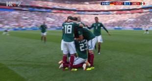 Meksiko srušio svjetske prvake . Foto: Screenshot/HRT