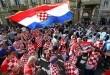 Hrvatski i argentinski navijači nadmetali su se u navijanju na ulicama Nižnji Novgoroda Foto: Hina