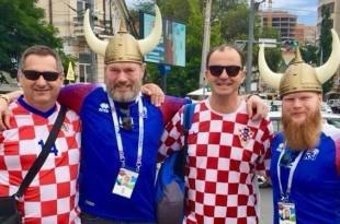 Hrvati i Islanđani se zajedno pripremaju za večerašnju utakmicu. Foto: Budi ponosan Njemačka