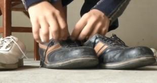 Jeison Rodriguez (22) iz Venezeule ima broj noge 68. Foto: Screenshot/Blick/Ilustracija
