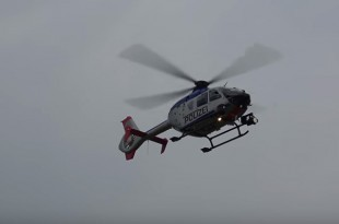Policijski helikopter sudjelovao u potjeri. Foto: Screenshot/Youtube/Ilustracija